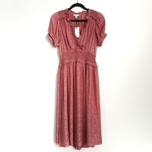 ⚡HOST PICK⚡Current Air Romantic Pleated Midi Dress